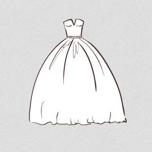 ballgown wedding dress shape silhouette