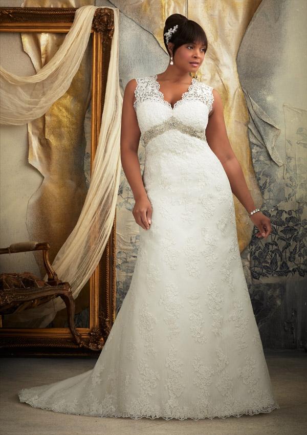Aline wedding dress size 20