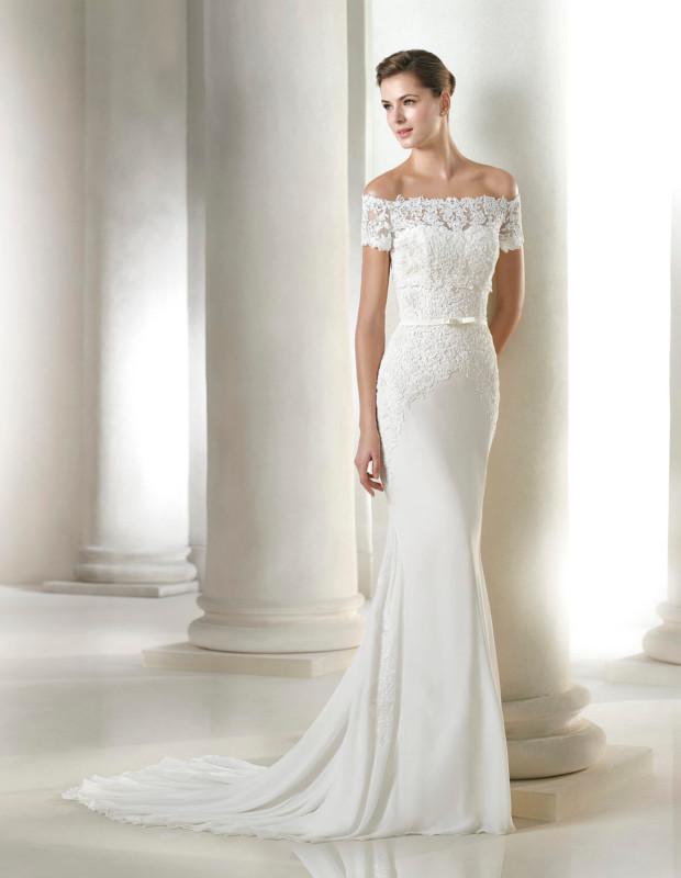 Hadasse San Patrick Dress Size 14 Bridal Village