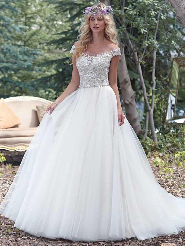 Maggie sottero montgomery bridal village for Local wedding dress designers