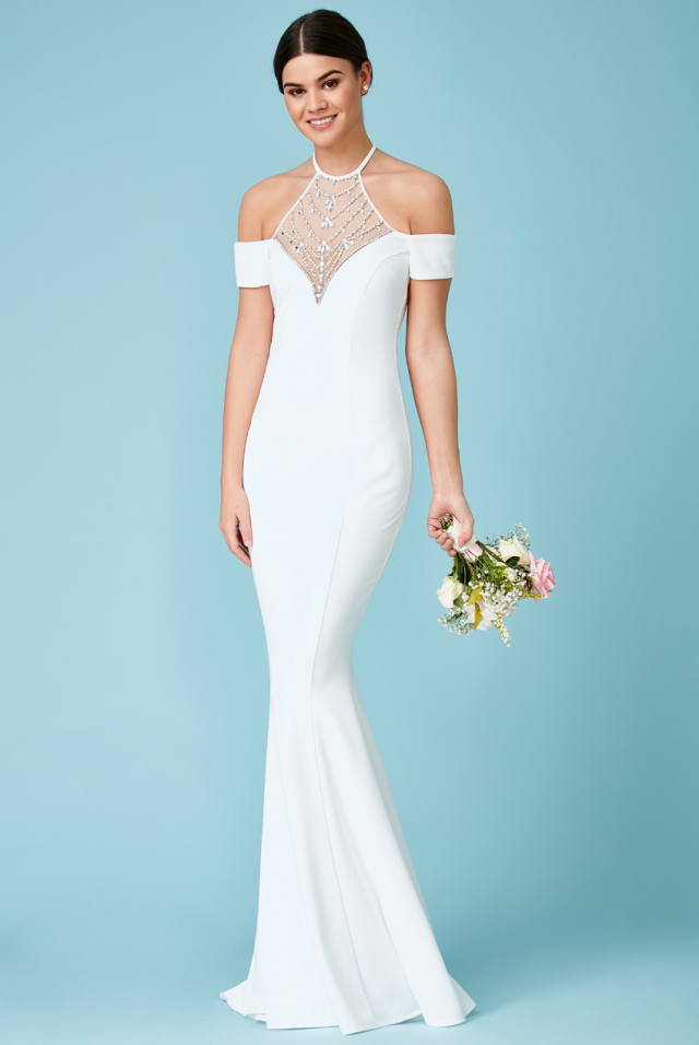 Dr1240w Second Dress For Wedding Reception Bridal Village