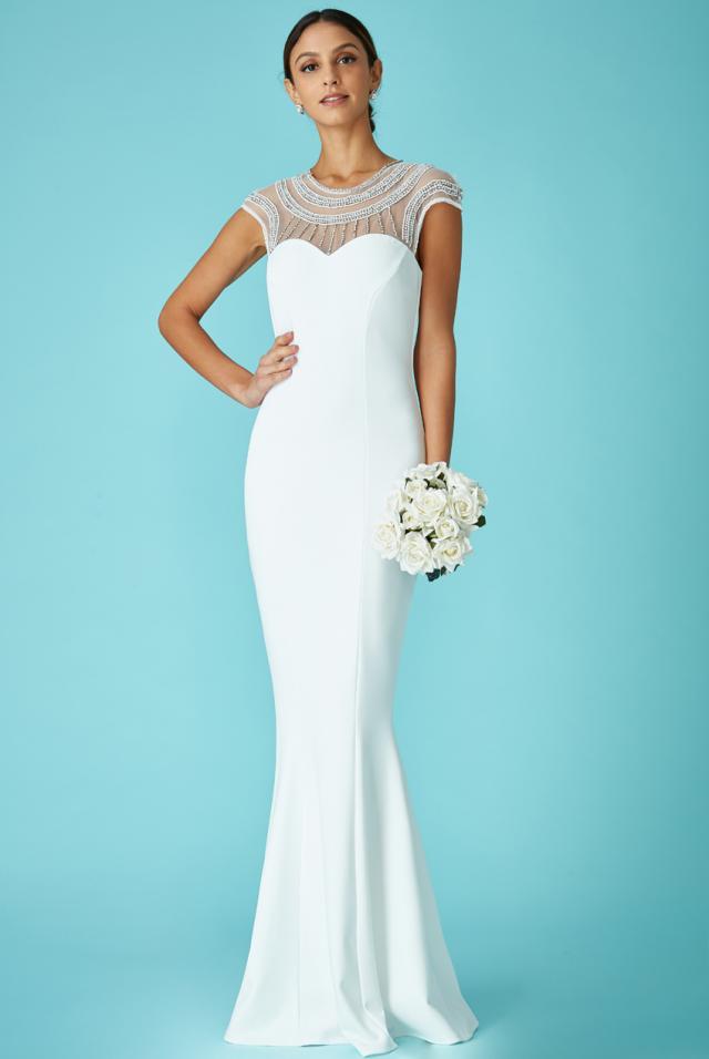 Dr1425w Second Dress For Wedding Reception Bridal Village